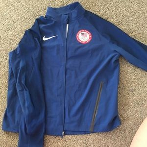 Nike Olympic Team Blue Jacket